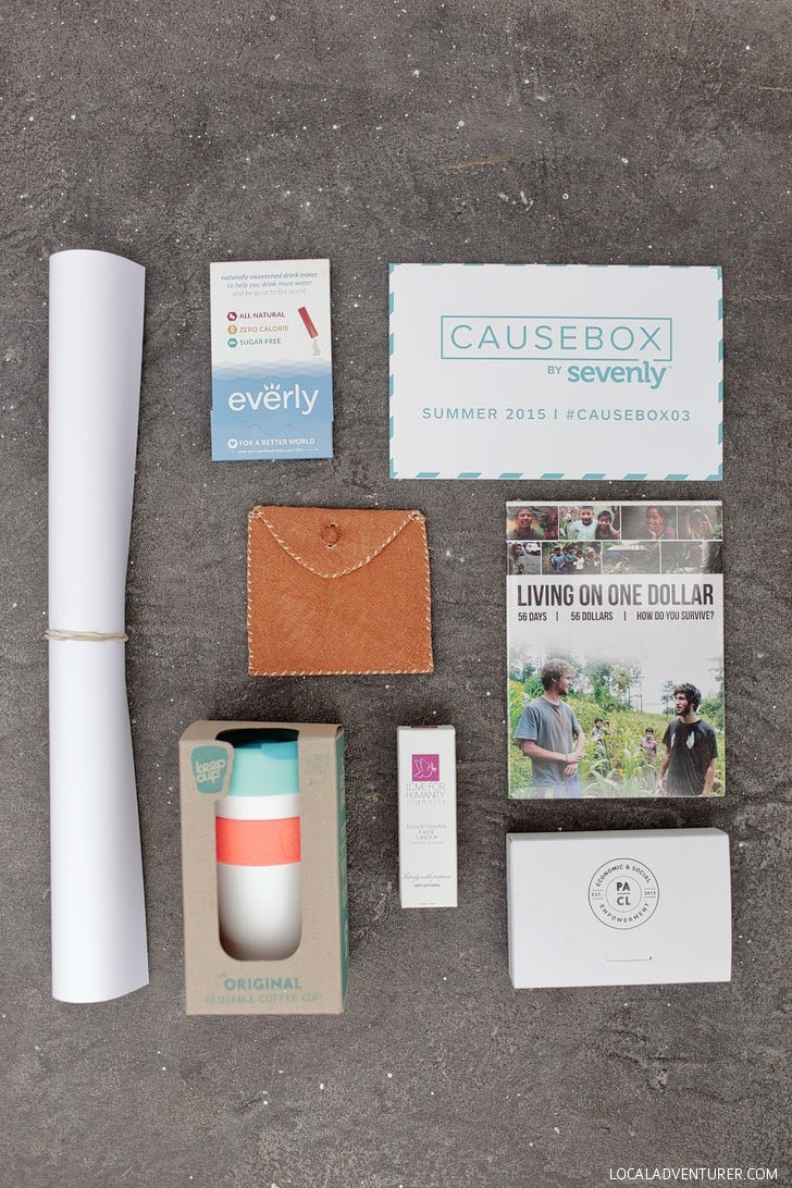 Causebox by Sevenly - A Box Subscription with Companies that Give Back!