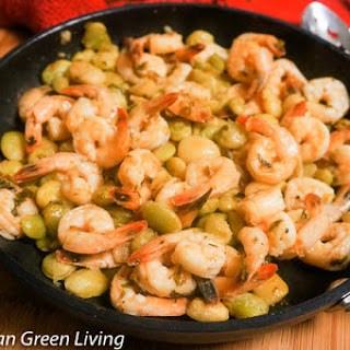 Shrimpswith Honey and Ginger