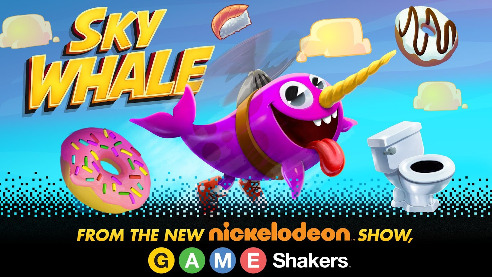 Screenshots of Sky Whale for iPhone