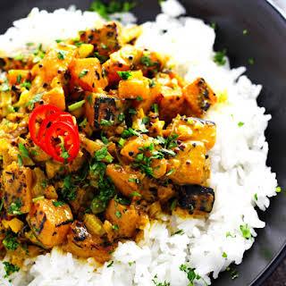 Indian Butternut Squash Curry.