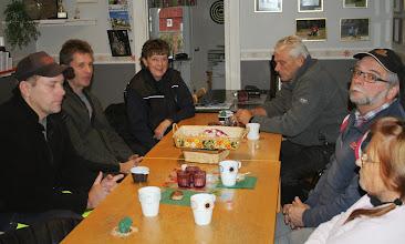 Photo: Vänstra raden: Titti, Pål, Johan, Susanne(syns inte på denna bild) Högra raden: Bosse, Hans-Åke och Eva