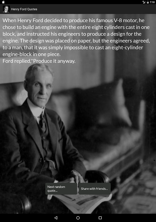 Ford Quote Unique Henry Ford Quotes  Android Apps On Google Play