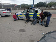 Four of the alleged hijackers were arrested when they tried to flee.