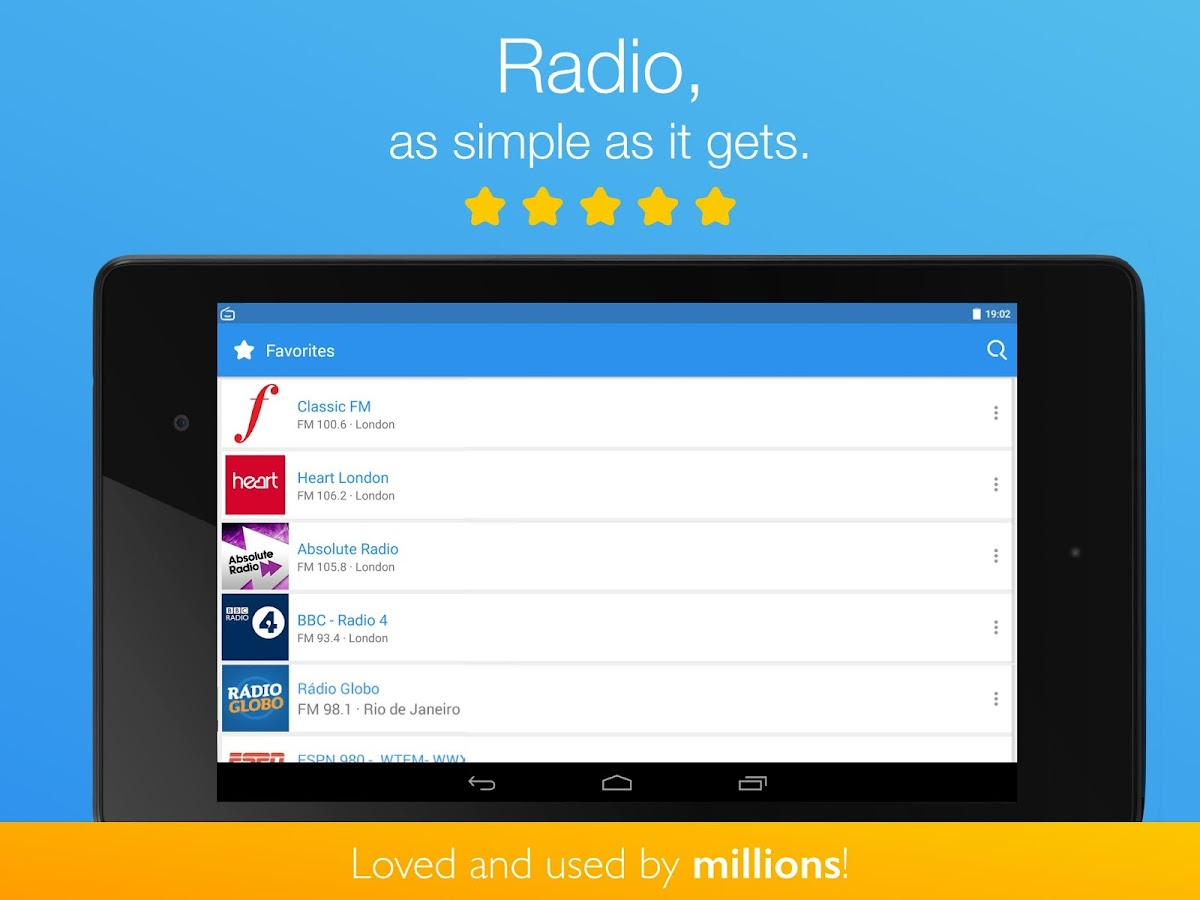 Simple Radio by Streema- screenshot