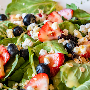 Kale and Berry Salad