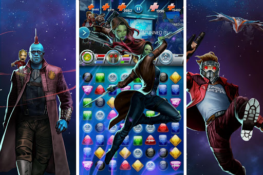 MARVEL Puzzle Quest: Join the Super Hero Battle! 204.531444 screenshots 8