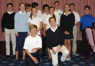 Photo: Millie with the Bramley Junior Golf Team at West Byfleet