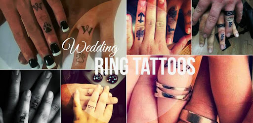 Ring Tattoo Wedding Ring Tattoos Couple Tattoo Programme Op Google