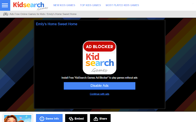 KidSearch.Games Ad Blocker