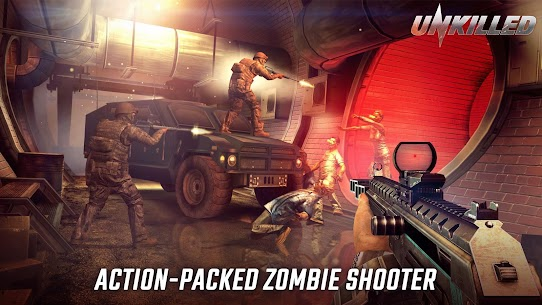 UNKILLED Mod Apk – Zombie Games FPS 1