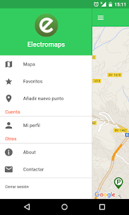 Electromaps- screenshot thumbnail