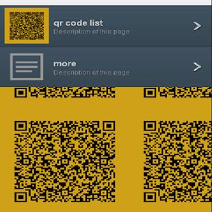 free QR code list - náhled