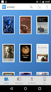 Bluefire Reader – Miniaturansicht des Screenshots