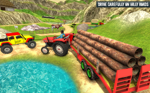 Cargo Tractor Trolley Simulator Game 1.0 screenshots 4