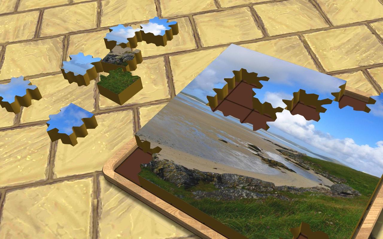 Super Jigsaws Landscapes- screenshot