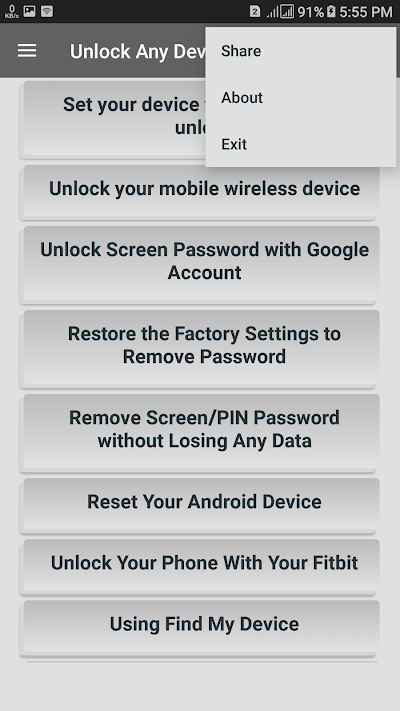 How To Unlock Phone Locked By Find My Device