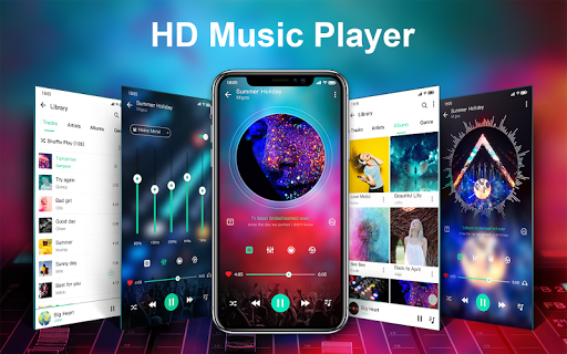 Music player & Video player with equalizer 1.1.2 Screenshots 1