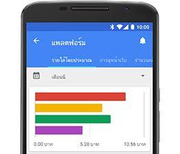 AdSense screenshot