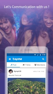 tapme - make a real meetup- screenshot thumbnail