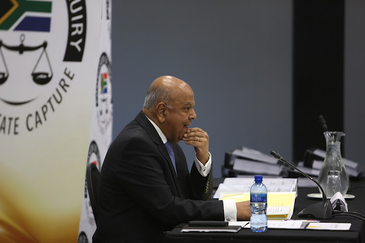Public enterprises minister Pravin Gordhan appeared before the state capture inquiry on Monday .