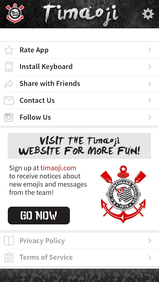 Timaoji - Corinthians Stickers- screenshot