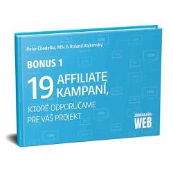 Bonus 19 affiliate kampaní