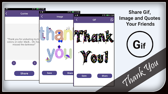 Thank You GIF and Images - náhled