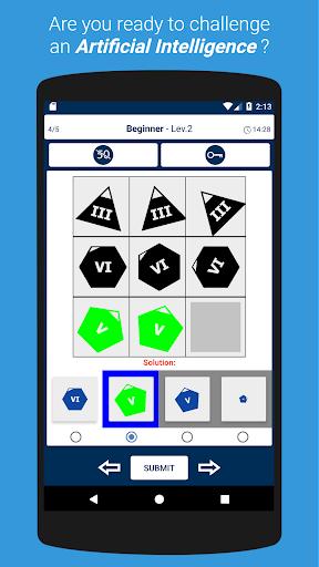 IQ Test: Raven's Progressive Matrices 1.8.5 screenshots 1