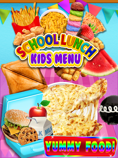 School Lunch Food - Kids Menu Pizza & Ice Cream 1.1 screenshots 6