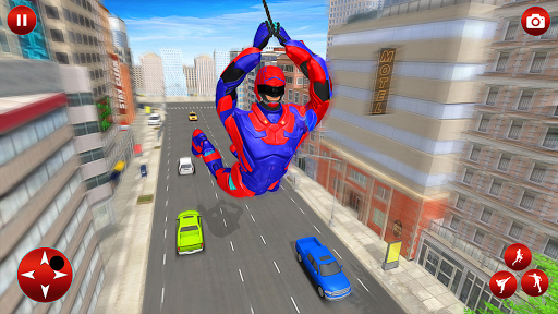 Superhero Robot Speed Hero apkpoly screenshots 9