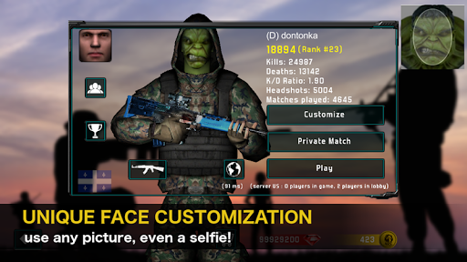 Natural Born Soldier - Multiplayer FPS 5.3.0 de.gamequotes.net 2