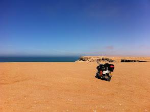 Photo: Cliffs north of Dakhla