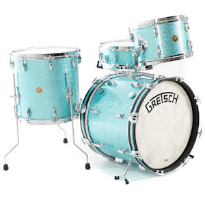 Gretsch Broadkaster - 18/12/14+14 - Turquoise Sparkle