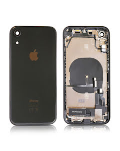 iPhone XR Housing with small parts Original Pulled Black