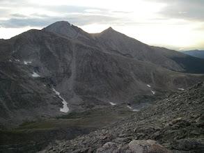 Photo: Chiefs Head, Longs Peak, and Mount Meeker.