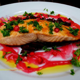 Pomegranate Sauce For Fish Recipes.