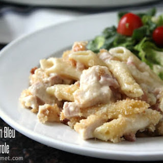 Chicken Cordon Bleu Pasta Casserole Recipe