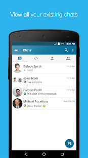 BBM Enterprise Screenshot
