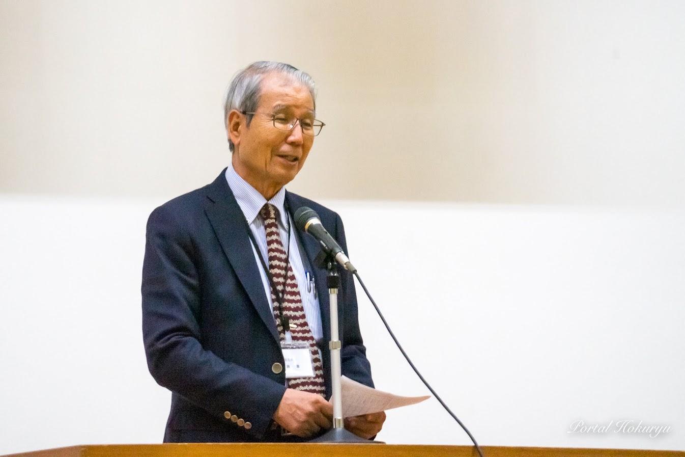 加藤憲 審査委員長