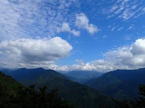 深南部は雲の中