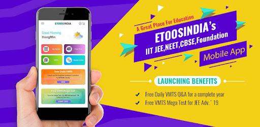 EtoosIndia: IIT JEE,NEET,CBSE,Foundation Prep App - Apps on