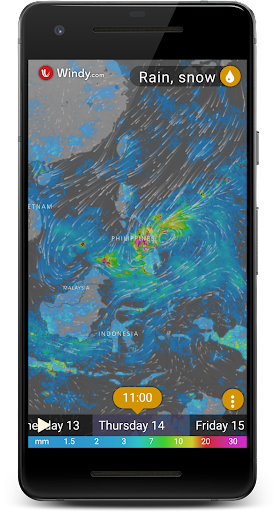 Rain Radar - Animated Weather Forecast Windy Maps 1.0 screenshots 1