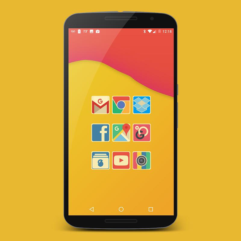 Retrofit Icon Pack Screenshot 3