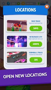 Idle Pit Stop: Tycoon Racing Manager MOD (Diamonds/No Ads) 2