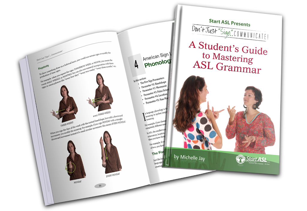The start asl online course a students guide to mastering asl grammar fandeluxe Images