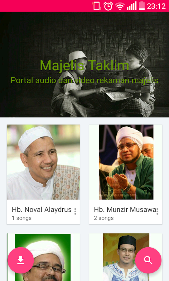 Audio Ceramah Majelis Taklim- screenshot