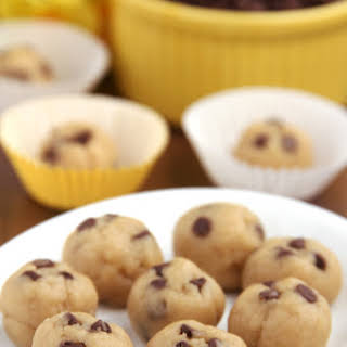 Chocolate Chip Cookie Dough Bites.