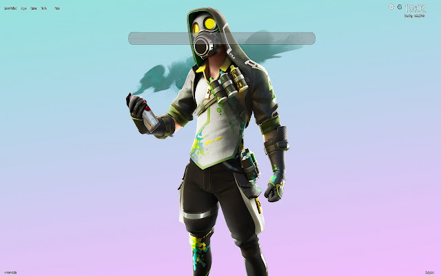Toxic Tagger Fortnite Wallpapers NEW TAB
