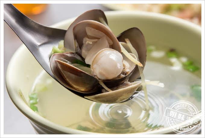 鼓山紹興炒飯蛤蠣湯