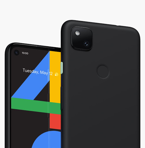 Pixel 4a in black